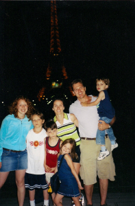 Au Pair in Paris with Host Family