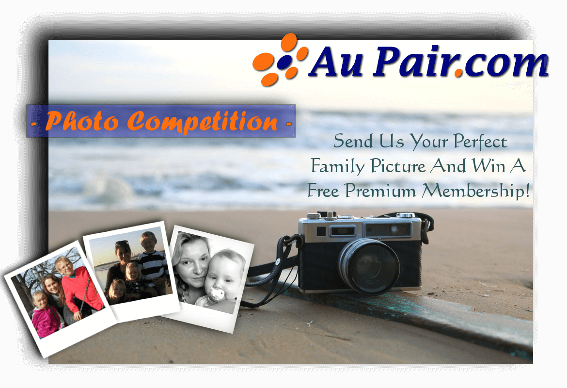 Au Pair Photo Contest for host families